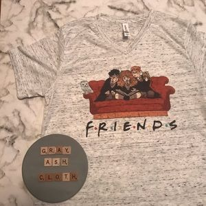 Harry Potter friends shirt   Bella canvas